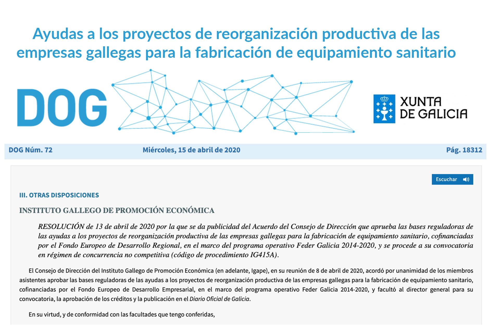 ayudas-pymes-gallegas-reorganizacion-textil-sanitaria
